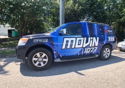 I Heart Radio Movin 101 Nissan Pathfinder Full Wrap 5