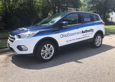 Ohio Basement Authority Ford Escape Full Wrap (3)