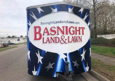 Basnight Trailer Full Wrap